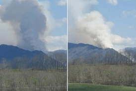 Fire contained in national forests near Rockbridge County