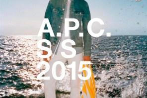 A.P.C. PRIMAVERA VERANO 2015 CAMPAÑA