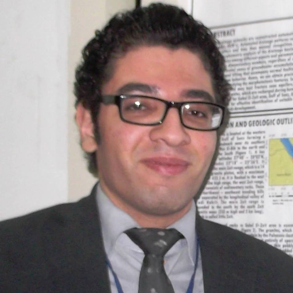 Hadi El-Shourbagi, Demonstrator of Structural Geology, Minia University