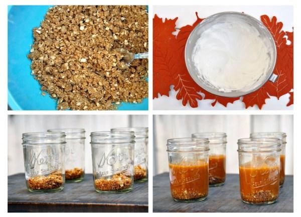 Pumpkin Pie in a Jar Instructions