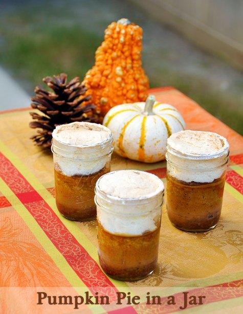 Recipe for Pumpkin Pie in a Jar