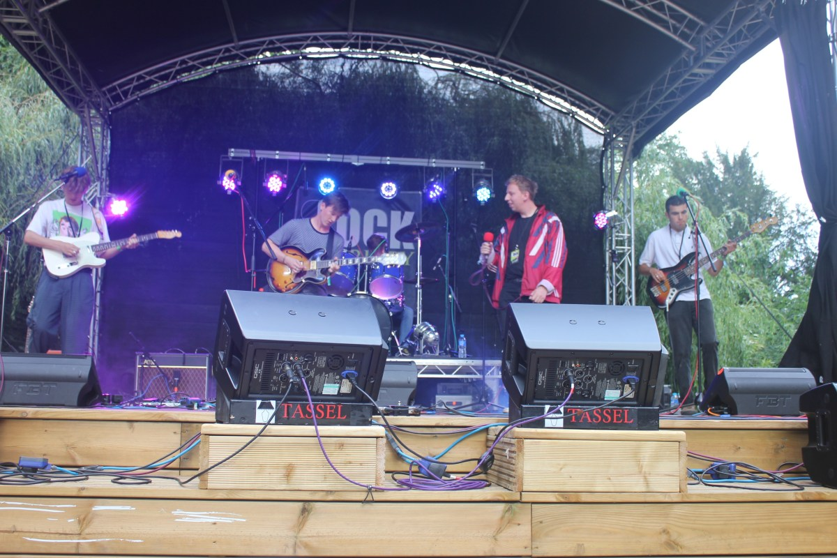 Rock in the Priory 2016 The Staycations