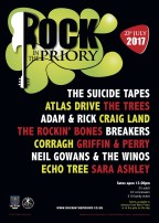 Rock in The Priory 2017 Line up