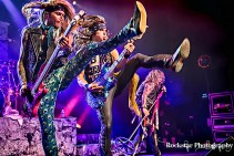 steel panther performing at sound academy