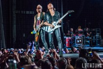 Scorpions perfom at Molson Amphitheatre in Toronto