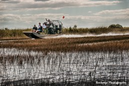 Airboats in The Everglades