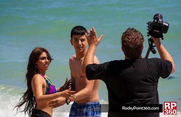 Detras de camara del video de Luis Coronel y Nena Guzman-62