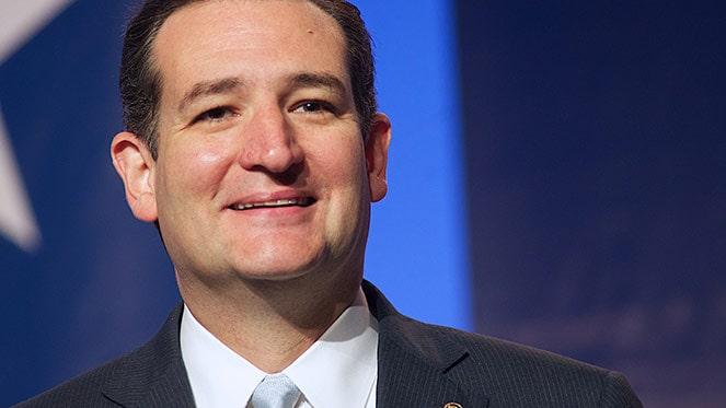 Ted Cruz Victory Smile Iowa