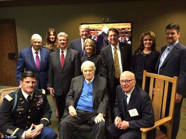 Billy Graham's Interesting Friends