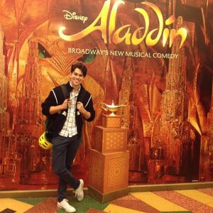 Rodney Ingram as Aladdin Oct 27, 28, and 30th