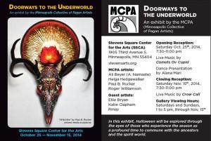 Doorways to the underworld/art opening
