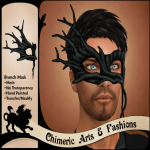 ~Chimeric Fashions~ Branch Mask (Black)