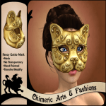 ~Chimeric Fashions~ Fancy Gatto (Gold)