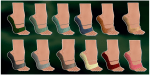 Devanna Slippers Color Chart