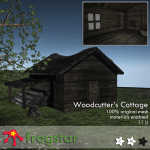 Frogstar - Woodcutter's Cottage Poster