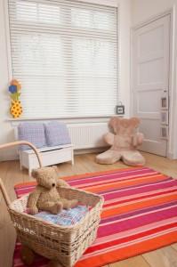 żaluzja pozioma -pokój dziecka