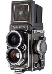 Stock image of a Rolleiflex 4.0FW