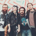 (From left) Paul Bender, Nai Palm, Perrin Moss and Simon Mavin of Hiatus Kaiyote. Photo: Courtesy of the artist/WILK