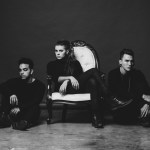 (From left) PVRIS' Brian MacDonald, Lynn Gunn and Alex Babinski. Photo: Max Fairclough