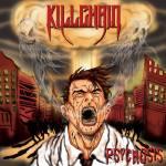 Artwork for Killchain's debut EP 'Psychosis'. Art: Vineet Sharma