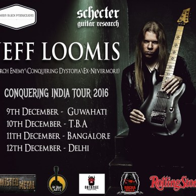 Jeff Loomis to Tour India in December