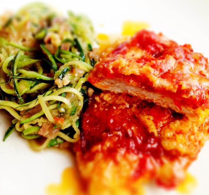 Paleo Chicken Parmigiana
