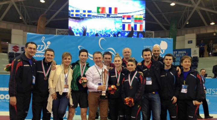 FELICITĂRI! Aur pentru Romania la Campionatele Europene de tenis de masa, la dublu mixt