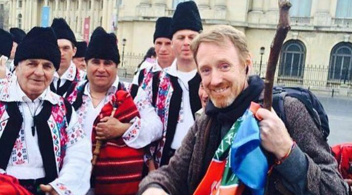 """(Video) România, văzută de un irlandez: """"E miraculos că există o astfel de țară în Europa"""""""