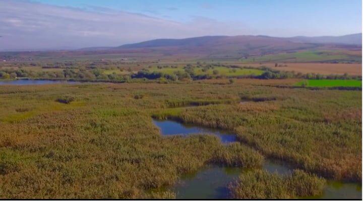 (Video) Așa arată Delta din Carpați, un loc din România superb. Filmare cu drona: