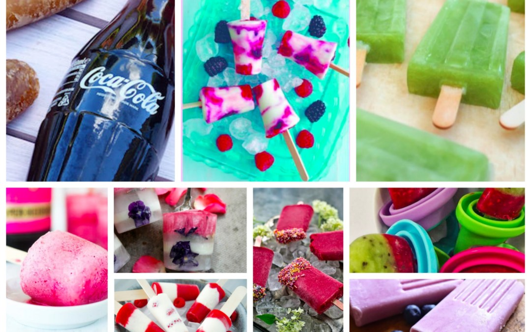 25+ Ice Lollies Recipes #FridayFoodie & Linky