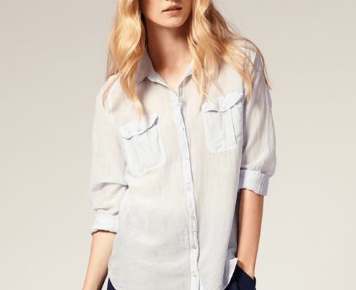 Whistles Rosie Silk Cotton Blouse $138.49