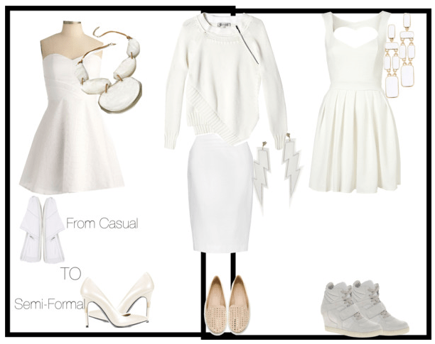 All white looks 2