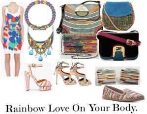 Rainbow Love On Your Body