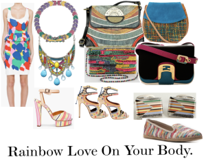 Rainbow Love On Your Body
