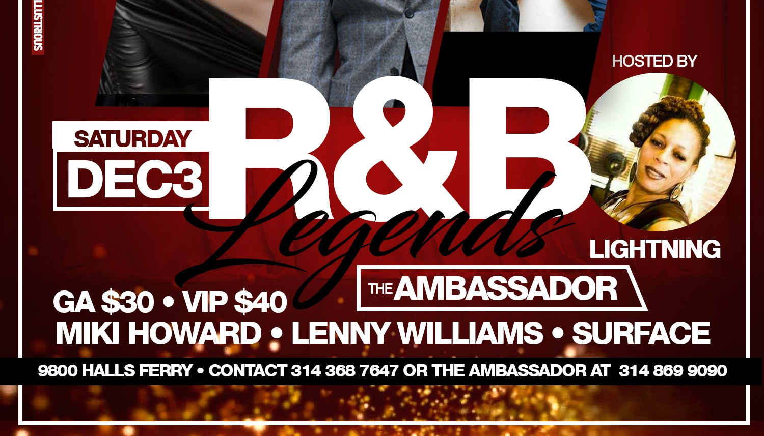 R&B Legends at The Ambassador