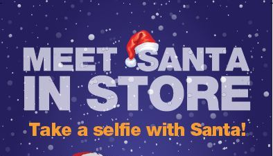 MetroPCS Selfies With Santa