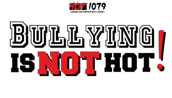 bullying is not hot