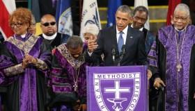 President Obama Rev. Clementa Pinckney Eulogy
