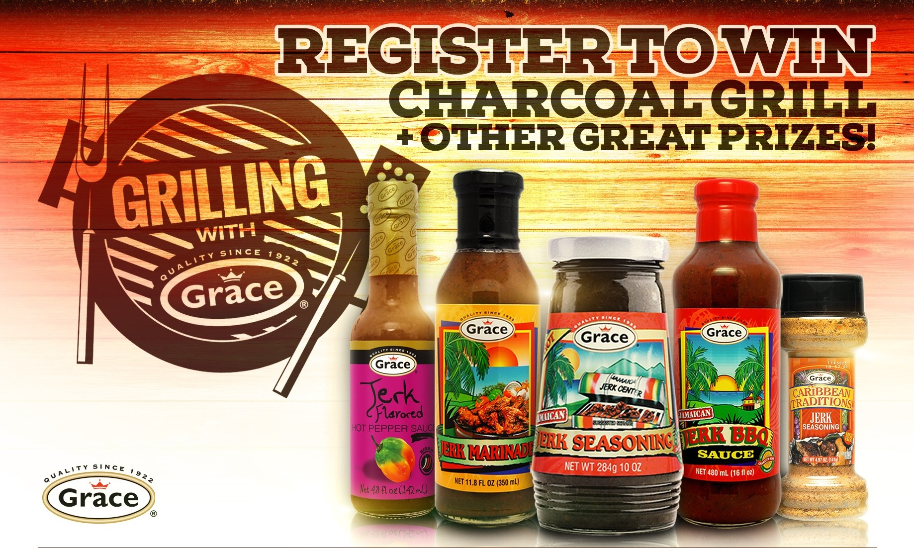 Grilling with Grace Contest Header
