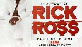 Rick Ross Port of Miami Graphic