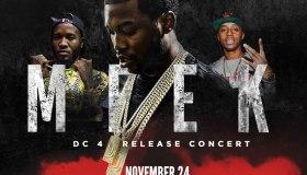 Meek Mill DC 4 Release Concert Flyer Updated
