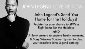 JOHN LEGEND FLYAWAY SWEEPSTAKES