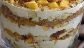 Peach Cobbler Trifle Recipe