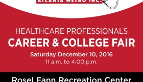 Healthcare Professionals Career And College Fair