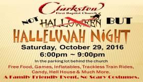 Clarkston Hallelujah Night