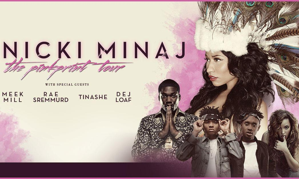 Nicki Minaj Tour Flyer
