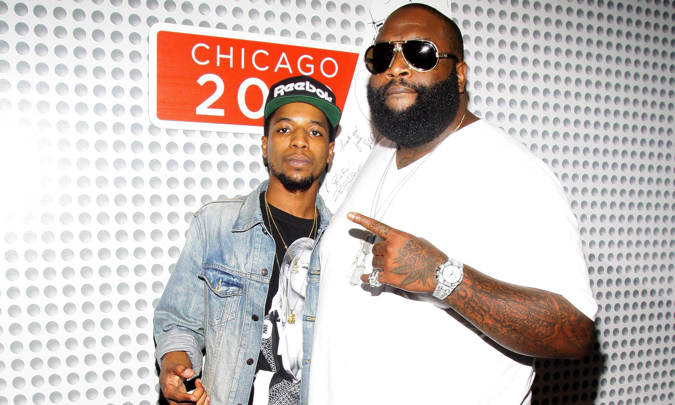 Rick Ross Promotional Visit To Chicago