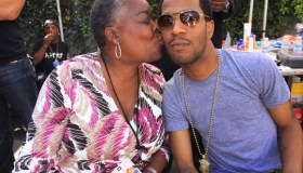 Kid Cudi and mom