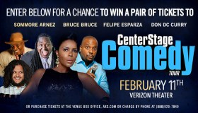 Center Stage Comedy Tour Ticket Giveaway