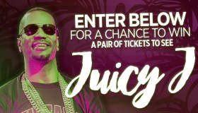 Juicy J Tour Ticket Giveaway